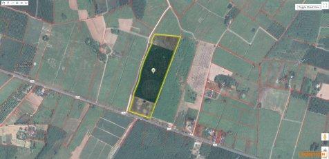 ขายที่ดิน อำเภอบ่อทอง จังหวัดชลบุรี ติดถนนสาย 3340