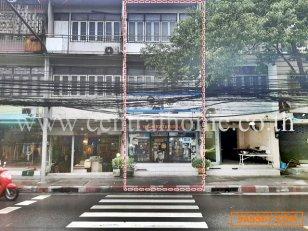 อาคารพาณิชย์ ติดถนน ประชาสงเคราะห์ 23 กับ 25