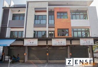 โฮมออฟฟิศ 3 ชั้น กลางเมืองเชียงใหม่ โครงการ เซ้นส์ ราชภัฏ ใกล้มหาวิทยาลัยเชียงใหม่ เริ่มต้น 172 ตร.ม ทำเลดีมาก