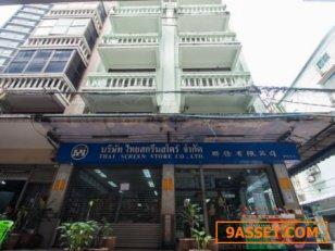 ขาย อาคารพาณิชย์ 2 คูหา ติดรถไฟฟ้า สะพานควาย เดินขึ้นได้เลย ขนาด 39 ตรว. พื้นที่ 936 ตรม. ขาย ตึกแถว ติดรถไฟฟ้า สะพานควาย