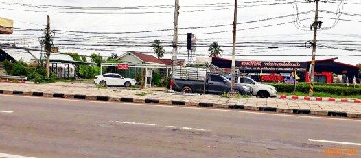 ขายทีดิน บ้านโป่ง ราชบุรี อยู่ติดถนนใหญ่