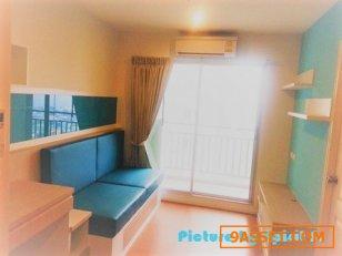ขาย-ให้เช่า ตึก A ชั้น 22 ห้องหัวมุม 2207 ขนาด 29 M2วิวทะเล เฟอร์นิเจอร์ Built-In ( Sale / Rent Conner room at Floor#22 A building 29 M2 room size )