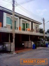 ขาย ทาวน์เฮาส์ 2 ชั้น หมู่บ้านประภัสสรกรีนปาร์ค ถนนสุขประยูร พานทอง ชลบุรี