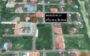 ขาย ที่ดินเปล่า หมู่บ้าน สหพร ต.ศาลายา อ.พุทธมณฑล