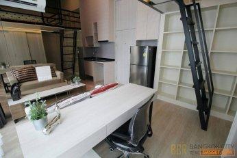 Noble Revolve Ratchada 2 Luxury Condo Modern Studio Loft Unit for Rent/Sale