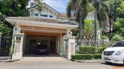 ขายถูกบ้านเดี่ยว เพอร์เฟค มาสเตอร์พีซ เลียบด่วนเอกมัย-รามอินทรา 3ห้องนอน 3ห้องน้ำ 1แม่บ้าน 083-553-3636
