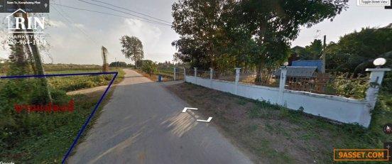 ขายที่ดินเปล่าติดแม่น้ำปิง ติดถนน 4ไร่ 2 งาน บวก ต.แสนตอ อ.ขาณุวรลักษบุรี จ.กำแพงเพชร (นี)089-964-1451