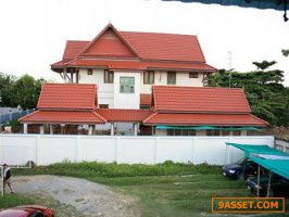 ขายบ้านทรงไทยประยุกต์ เนื้อที่ 141.40 ตรว.