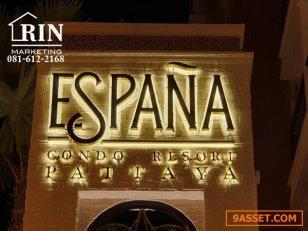 R072-051 ขายต่ำกว่าราคาทุน เอสปันญ่า คอนโด รีสอร์ท พัทยา Espana Condo Resort Pattaya