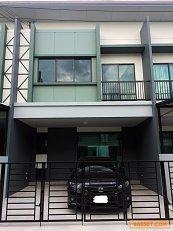 72588 - ขาย ทาวน์โฮม 2 ชั้น หมู่บ้าน สิริเพลส ติวานนท์ สภาพใหม่