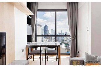 Ashton Chula Silom Ultra Luxury Condo 1 Bedroom Corner Unit for Sale Special Price