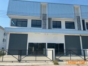 ขาย New! Home Office + โกดัง โครงการ smart cluster ศรีราชา ใกล้ปิ่นทอง 1 ชลบุรี