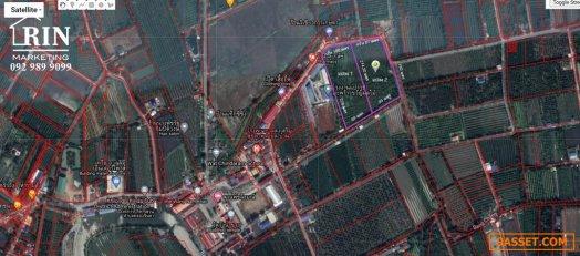 R046_059 ขายถูกมาก ที่ดินสวนเกษตร สามพราน ติดถนน ใกล้ชุมชน น้ำไฟ พร้อม