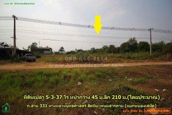 ขายที่ดิน ติดถนนสาย 331 พนัสนิคม ชลบุรี ใกล้แยกหนองเสม็ด