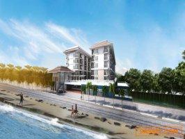 ขาย - คอนโดบางแสน ติดทะเล ห้องใหม่ ราคาถูก ใกล้ม.บูรพา - Seaside Bangsaen