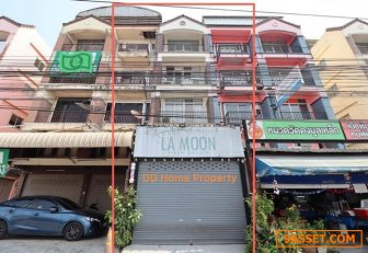 DD00317 ขายอาคารพาณิชย์ วงเวียนพระราม5 ติดถนนพระราม5-ราชพฤกษ์ หน้าบ้านหันทางทิศใต้