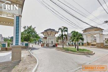 R067-071 ขายบ้านเดี่ยว 2 ชั้น  หมู่บ้าน ฟลอร่าวิลล์ รังสิต Flora Ville เนื้อที่ 54 ตรว. 3 นอน 2 น้ำ ซอยวัดเปรมประชากร ใกล้ WorkPoint ใกล้รถไฟฟ้าสายสีแดง สถานีรังสิต