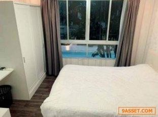 ขาย DCondo Campus Resort ราชพฤกษ์ - จรัญฯ 13 พท 30 ตรม อาคาร A ชั้น 2 วิวสระ ใกล้ BTSบางหว้า