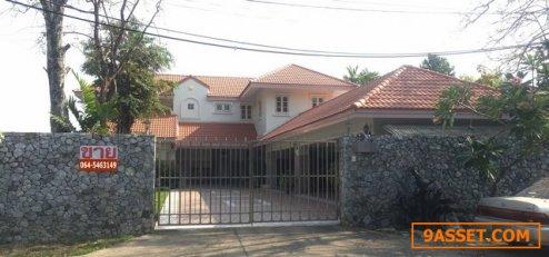 ขาย บ้านเดี่ยว 2 ชั้น ริมน้ำ หมู่บ้านเมืองเอก โครงการ 6 ใกล้มหาวิทยาลัย รังสิต