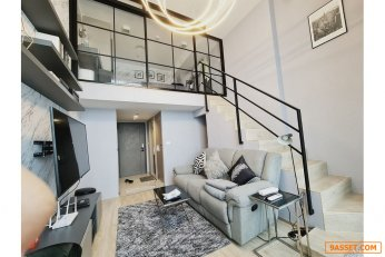 Special Price Brand New 1 Bedroom Duplex at Ideo New Rama 9 Luxury Condo for Sale