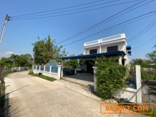 ที่ดิน พร้อมบ้าน 2 ชั้น ครึ่ง YE-65 บ้านหนองกุง ตำบลศิลา ขอนแก่น Ban Nong Kung Sila khonkaen