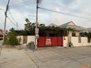 ขายบ้านชั้นเดียว  ขนาด 64 ตารางวา หมู่บ้านกลางเมือง 88 หัวหิน หมู่ 1 จังหวัด ประจวบคีรีขันธ์