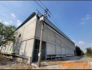 ขาย โกดัง ที่ดินพร้อมปลูกสร้างอาคารเต็มพื้นที่ โกดัง ไทรน้อย 1937 ตรม. 1 ไร่ เหมาะทำโรงงาน หรือโกดังเก็บสินค้า