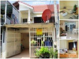 24054 ขายบ้านเชียงใหม่ ทาวน์เฮาส์หลังโรงเรียนสารสาสน์วิเทศ ต.ท่าศาลา อ.เมืองเชียงใหม่ / Chiangmai House for SALE, Near Chiangmai Raiway Station, Tha Sala, Chiangmai, THAILAND