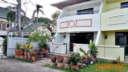 ให้เช่า บ้านพัทยา ทาวน์เฮ้าส์ บ้านสวนสุวัฒนา 2 นอน 3 น้ำ สุขุมวิท 53 พัทยาใต้ ด่วน 12,500 บาท