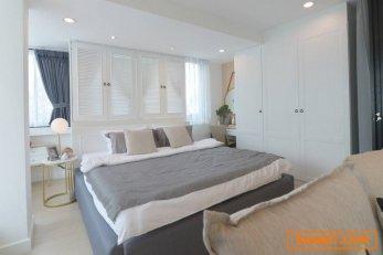 T00995 ขายคอนโดรีโนเวทใหม่ Hillside Condo 1 ห้องมุม 40 ตรม ชั้น 3 ห้องสวย ทำเลหลัง มช.