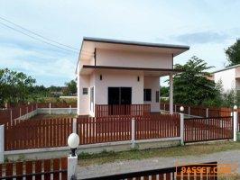 ขายบ้านราชบุรี ขายบ้านเดี่ยว 2 ห้องนอน 2 ห้องน้ำ ขนาด 100 ตารางเมตร 100 ตารางวา