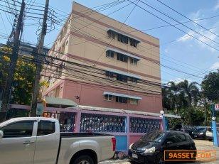 TN120ขายอพาร์ทเม้นท์ 5 ชั้น มีใบขออนุญาตไว้ 8 ชั้น  สุขุมวิท101/1 ย่านวชิธรรม พื้นที่สีส้ม