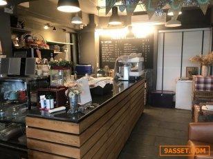 ให้เช่าร้านกาแฟพร้อมอุปกรณ์ทำกาแฟเปิดร้านได้เลย ซอยรพ.พระราม 9ไม่ต้องเสียเงินซื้ออุปกรณ์เป็น แสนๆ