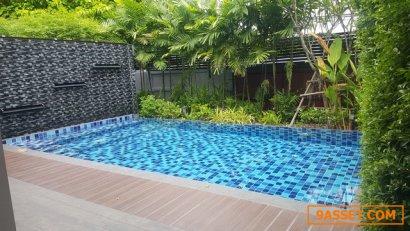ขายบ้านเดี่ยว สร้างใหม่ 126 วา พร้อมสระว่ายน้ำ ปรีดี 14 สวย ราคาพิเศษ