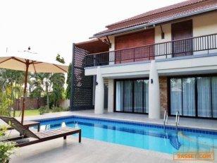 ขายบ้าน Pool Villa พร้อมสระว่ายน้ำส่วนตัว Villa 94 วิลลา 5 ห้องนอน 5 ห้องน้ำส่วนตัว ขนาด 800 ตร.ม. – กลางเมืองหัวหิน