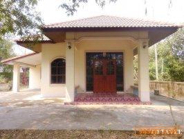 21406 ขายบ้านริมถนนสันทราย-ดอยสะเก็ด บ้านใกล้เทศบาลหนองแหย่ง เชียงใหม่ House, Sansai-DoiSaket Rd, Sansai, Chiangmai THAILAND