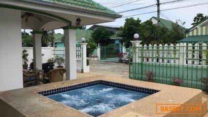 ขายบ้านเดี่ยวหัวหิน หมู่บ้านสุขสบาย 1  ขนาด 65 ตร.ว. 3 ห้องนอน 2 ห้องน้ำ