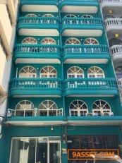 ขายอาคารพาณิชย์  2 คูหา 5 ชั้นรวมดาดฟ้า พื้นที่ 20 ตารางวา โชคชัย 4 ซอย 60 ลาดพร้าว