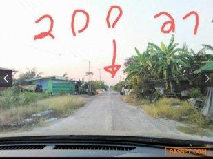 ขายที่ดิน 2 แปลง ติดถนน ราคาดี ในจังหวัดนครปฐม