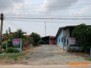 ขายห้องเช่าพร้อมผู้เช่าเต็ม 13 ห้อง + บ้าน 1 หลัง พร้อมที่ดิน หนองเหียง พนัสนิคมชลบุรี ใกล้ถนน 331